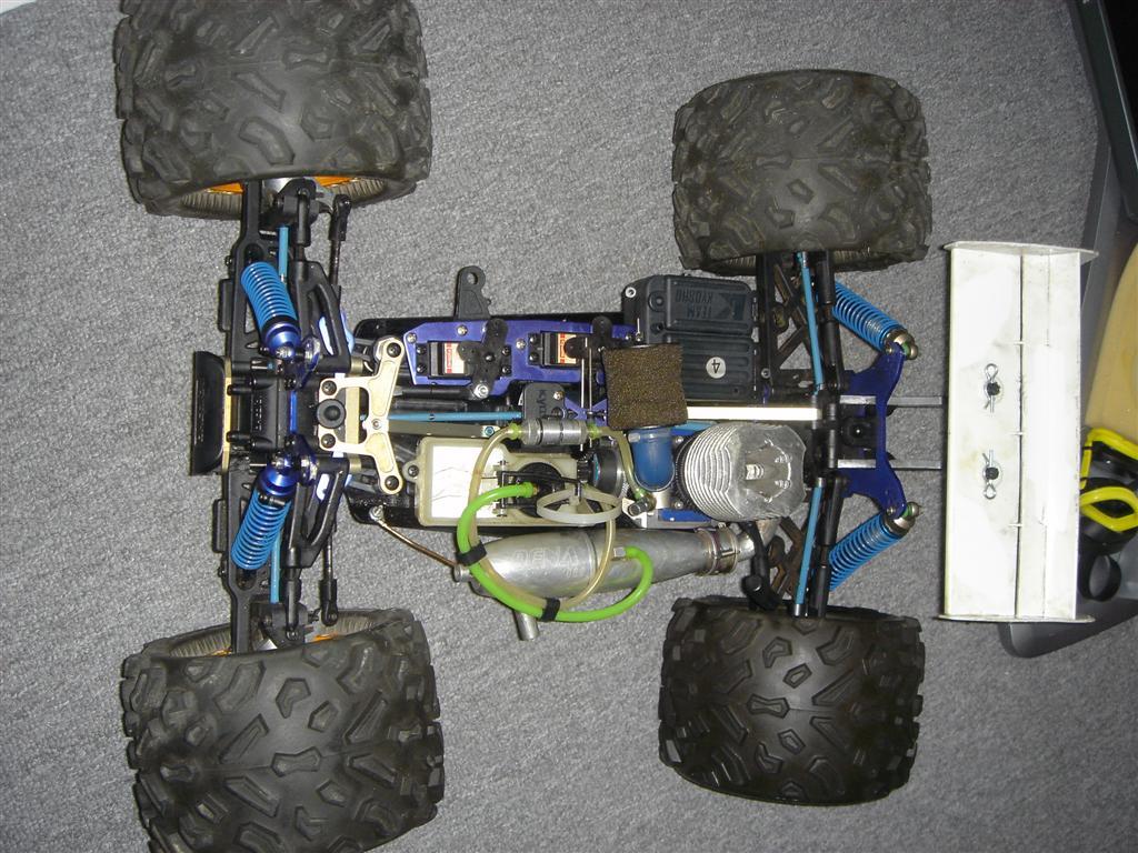 Garage Sale Kyosho Buggy Truggy Turbo Zeta Motors