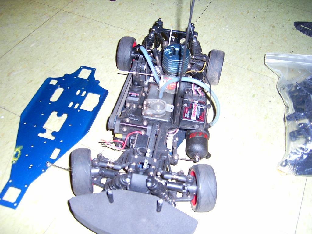 TRAXX 4-TEC GAS RC CAR TONS O PARTS - R/C Tech Forums on 1 4 scale rc cars sale, rc car parts storage, rc auto parts,