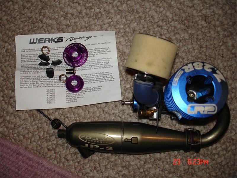LRP .28 Spec 3, Jammin JP-3, Werks Racing Clutch - R/C Tech Forums