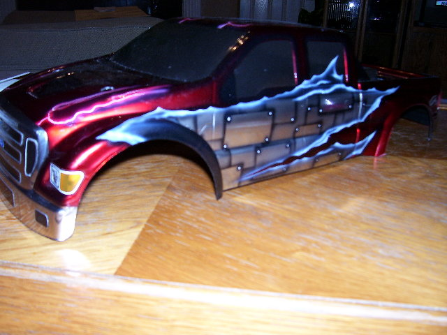 Traxxas E Maxx Painted Bodies
