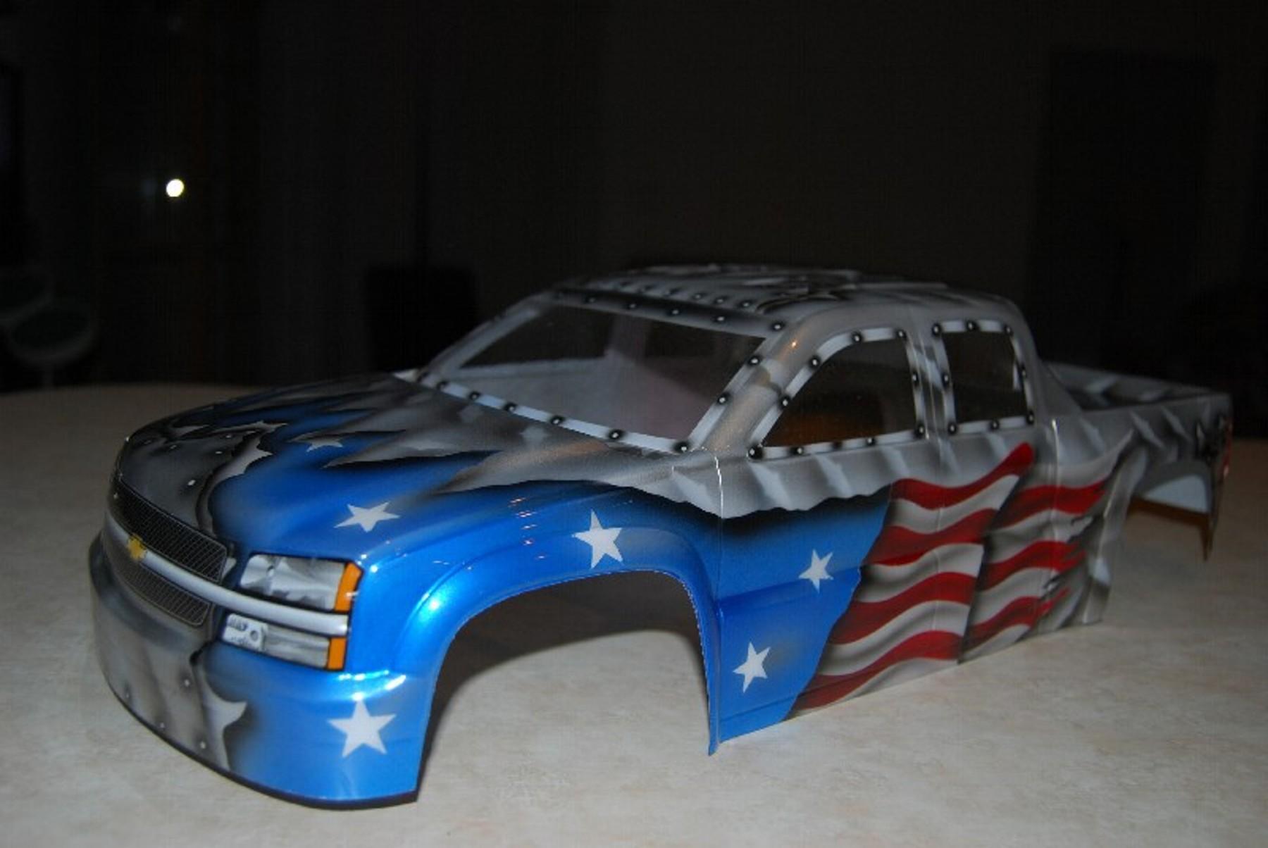 Silverado Trucks For Sale >> F/S Custom painted Chevy truck body - R/C Tech Forums