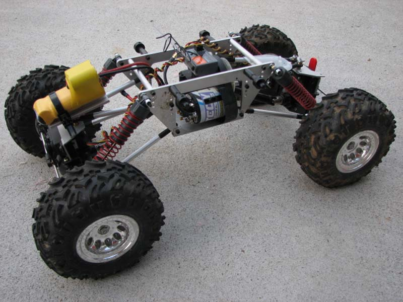 Rock Crawler Chassis : Tlt based rock crawler almost rtr r c tech forums