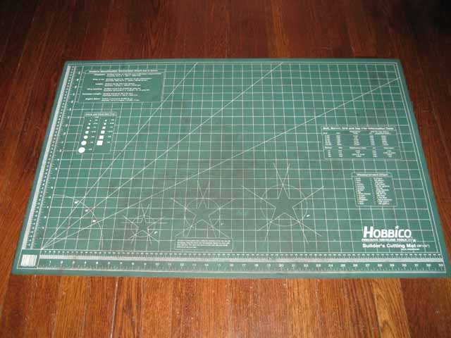 Hobbico Builder S Cutting Mat 24 Quot X36 Quot R C Tech Forums