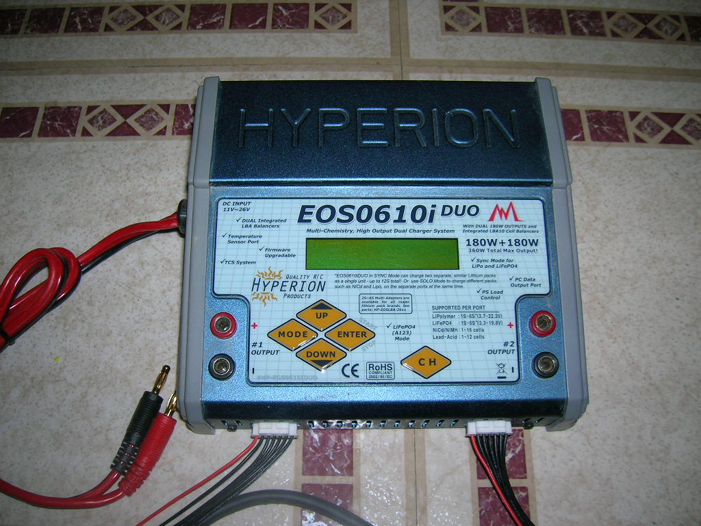 Hyperion Duo Chargerhyperion Charger For Sale R C Tech Forums Battery Balancer Lipo Helipal Eos 0610i Dual Li Nimh A123 Balancing 12s 10a 360w