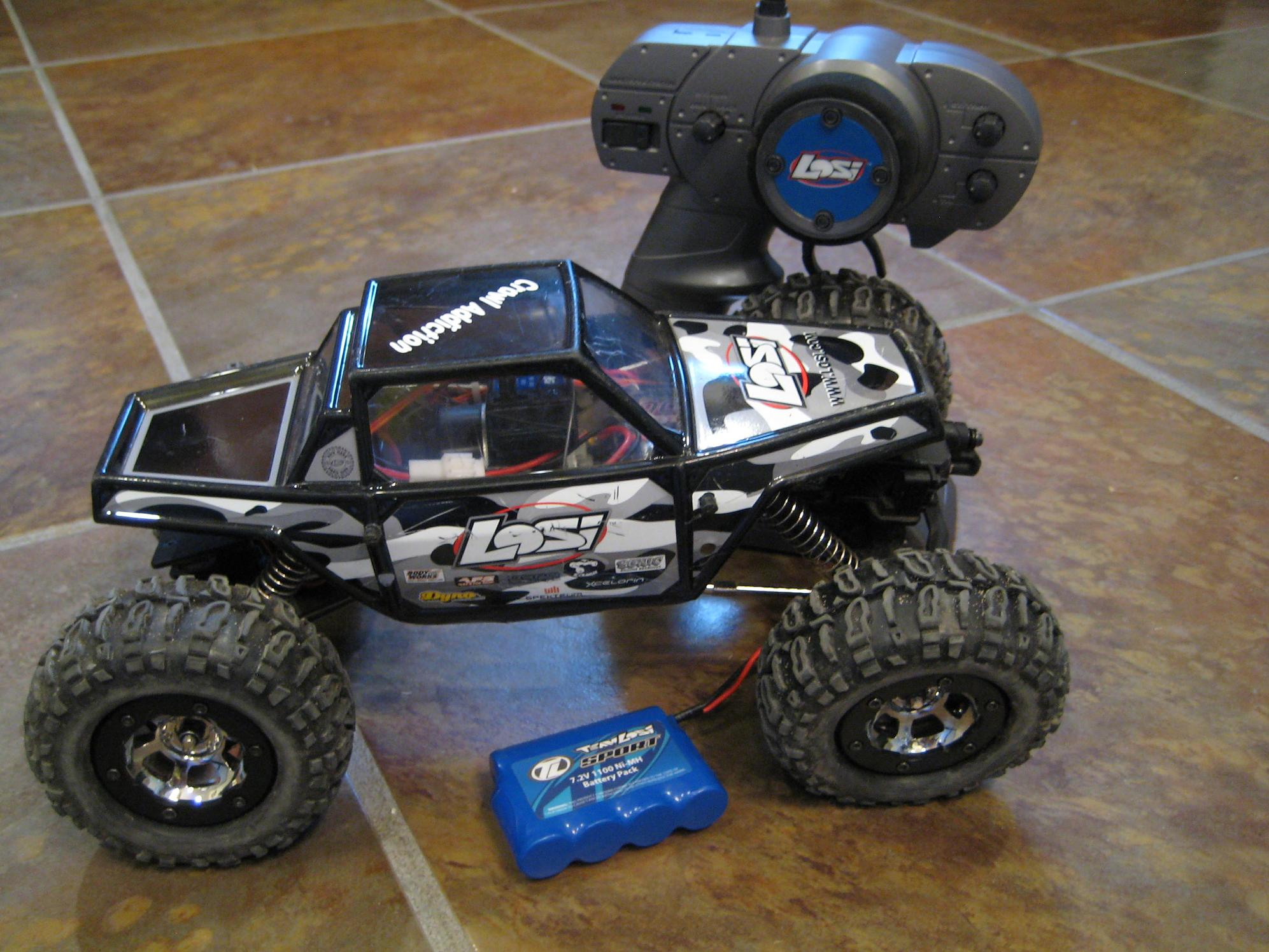 Modded Losi Mini Rock Crawler RTR possible 2 2 trade img 1217