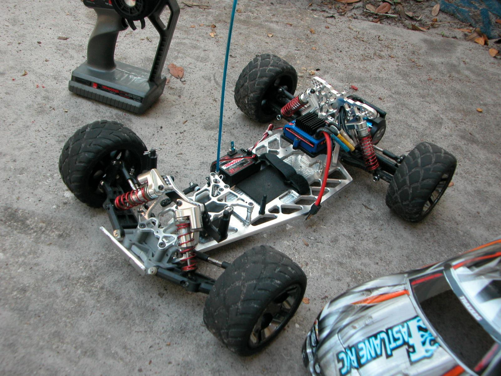 Fs Traxxax Rustler Vxl Fastlane Machine Integy Rpm R C Tech Dscn1981