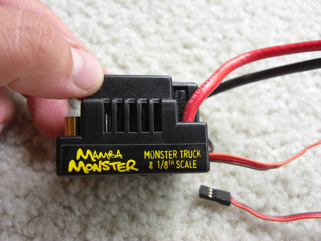 castle creations mamba monster 2200kv combo r c tech forums rh rctech net mamba monster manual programming mamba monster x manual
