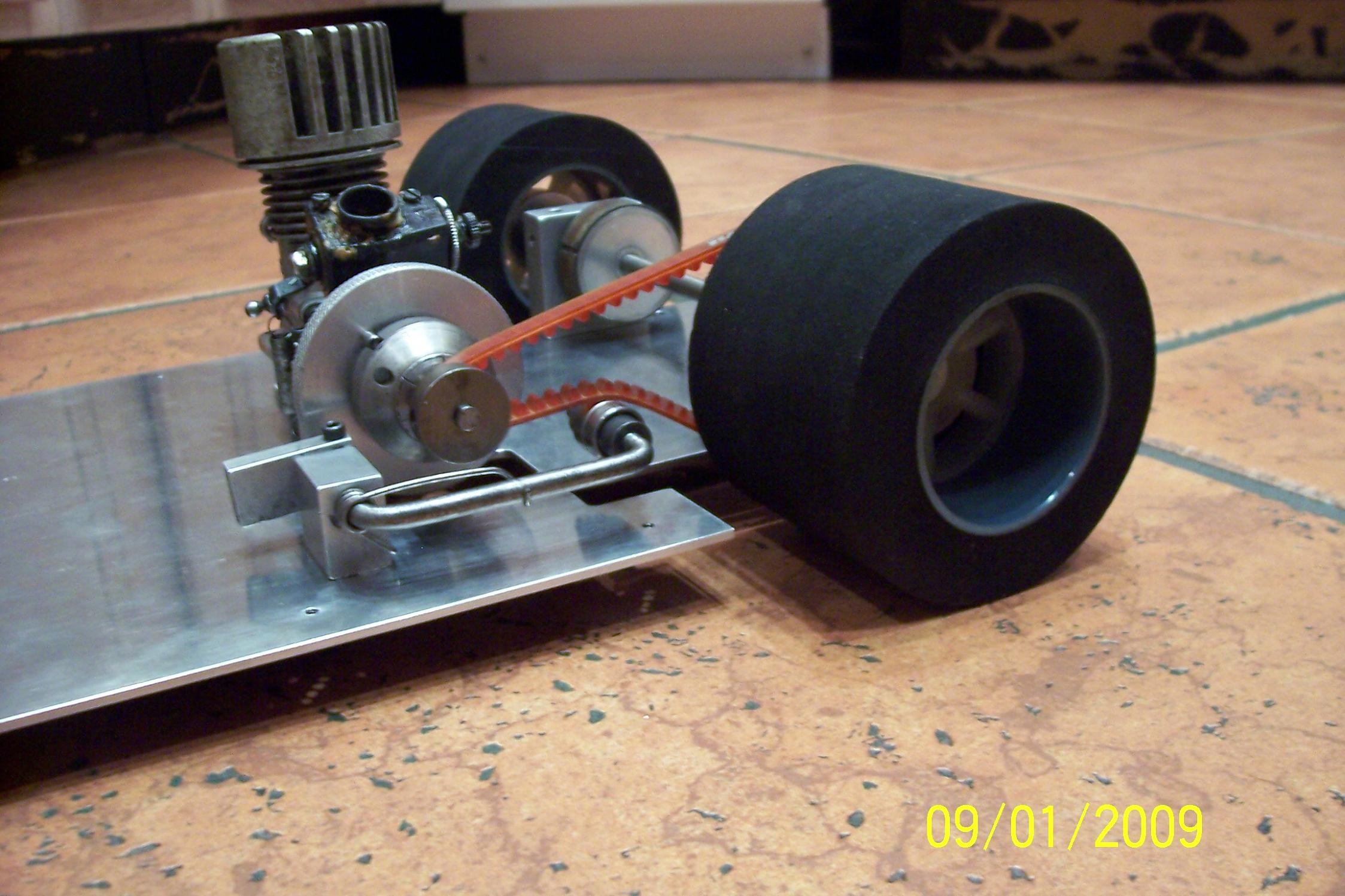 Homemade Rc Car 1:8 vintage rc car chassis