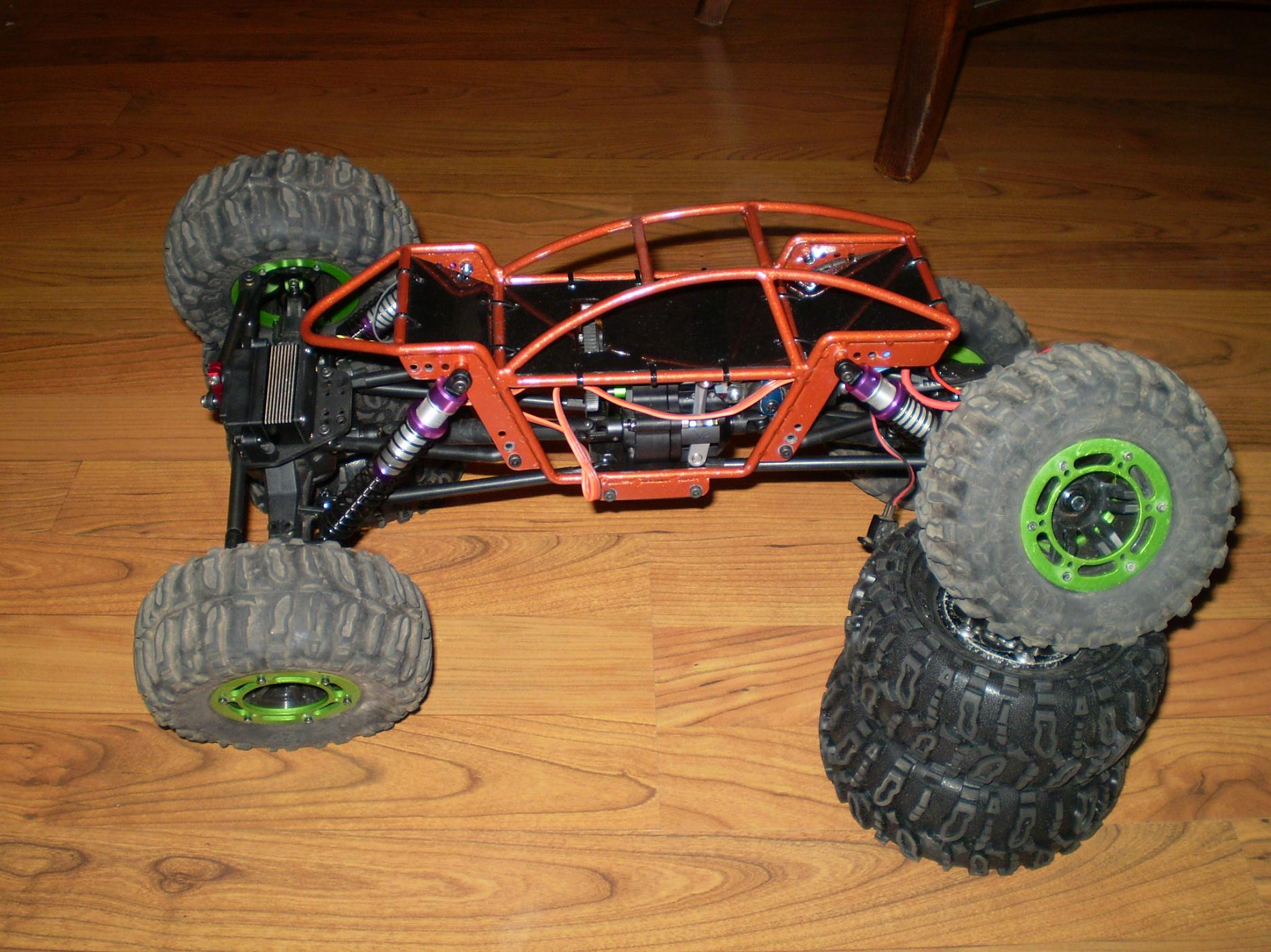 Rock Crawler Chassis : Ax rock crawler with r j tube chassis c tech forums