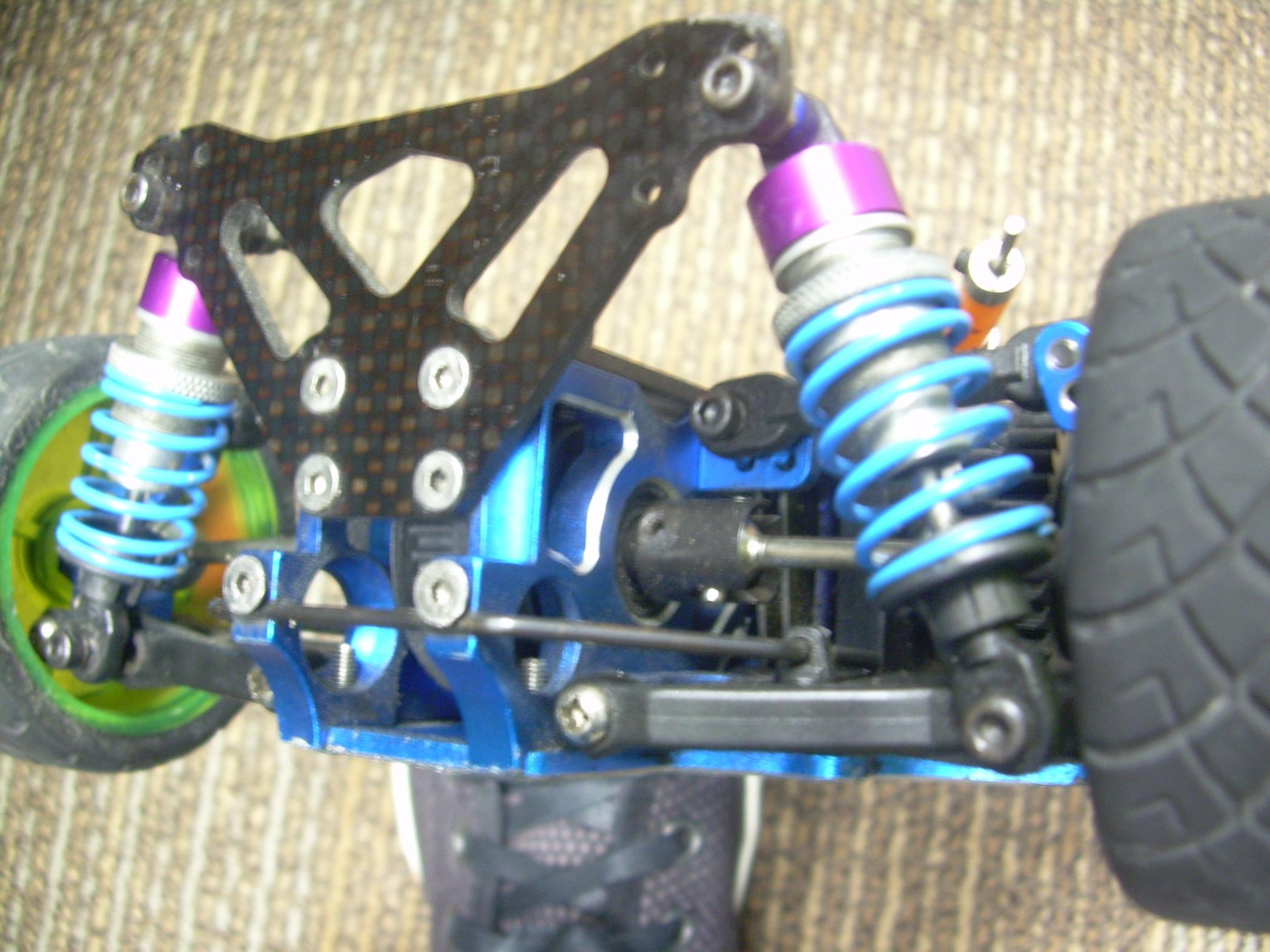 Nitro 4 Tec Roller plete Carbon Fiber and ALUM