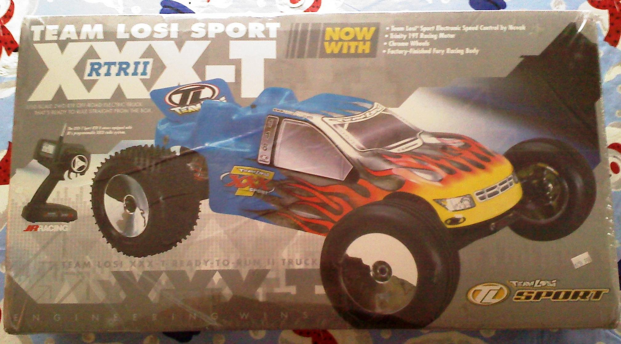You Xxx t sport rtr ii brushless the question