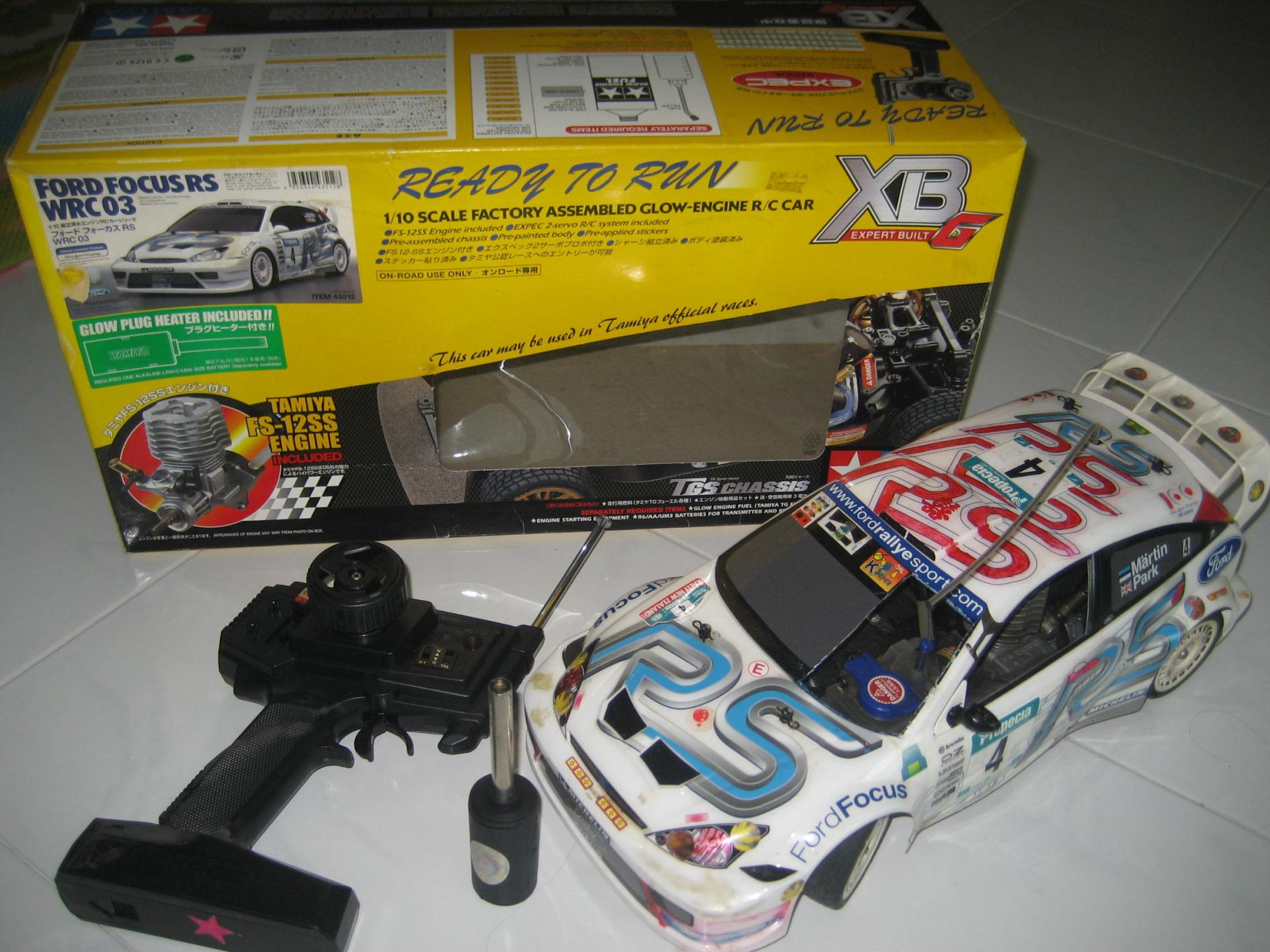 Tamiya Ford Focus Rs Wrc 03 Rc Fuels Car Xbg R C Car