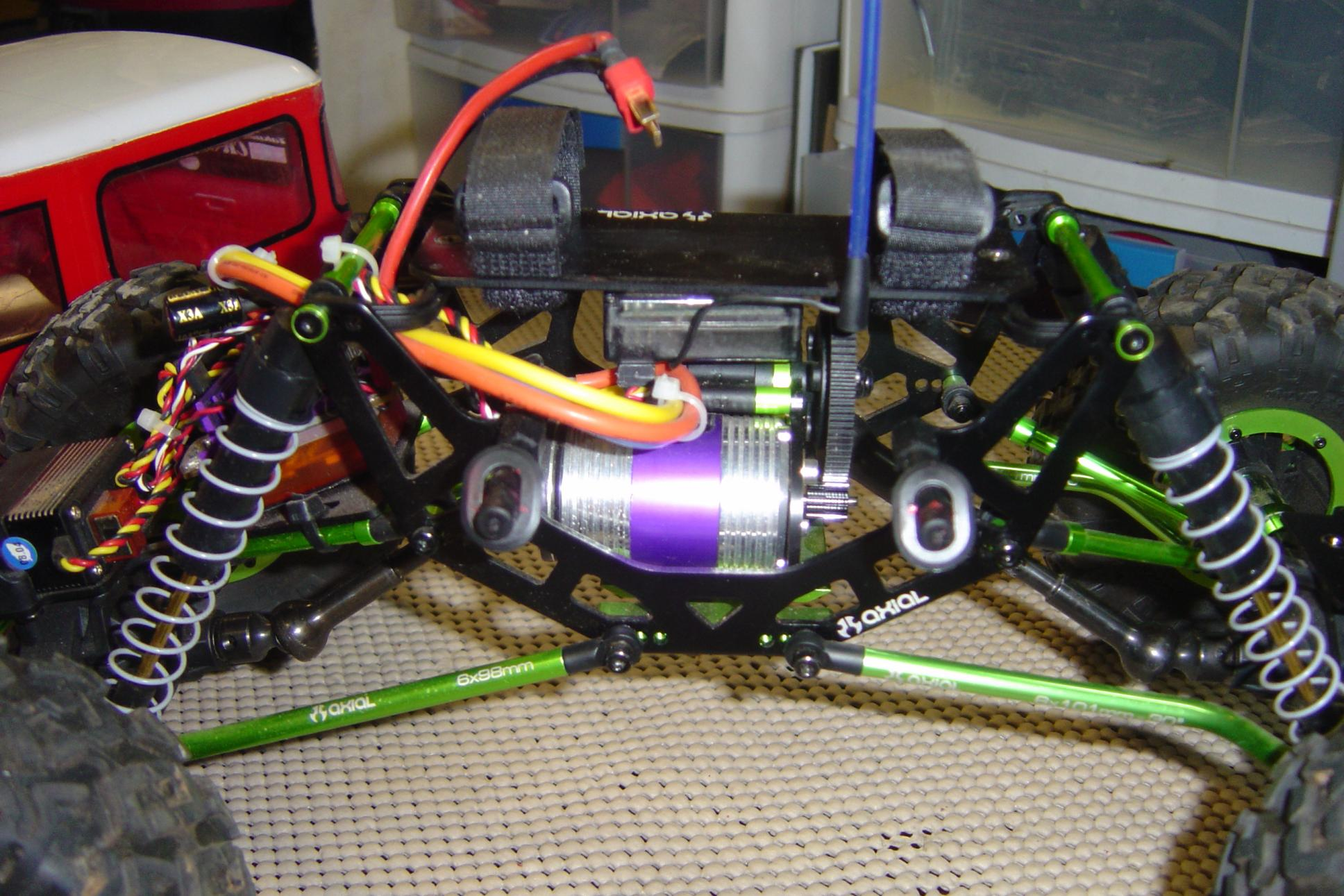 Axial AX10 Crawler, STRC, Novak Goat Brushless, Hitec ...