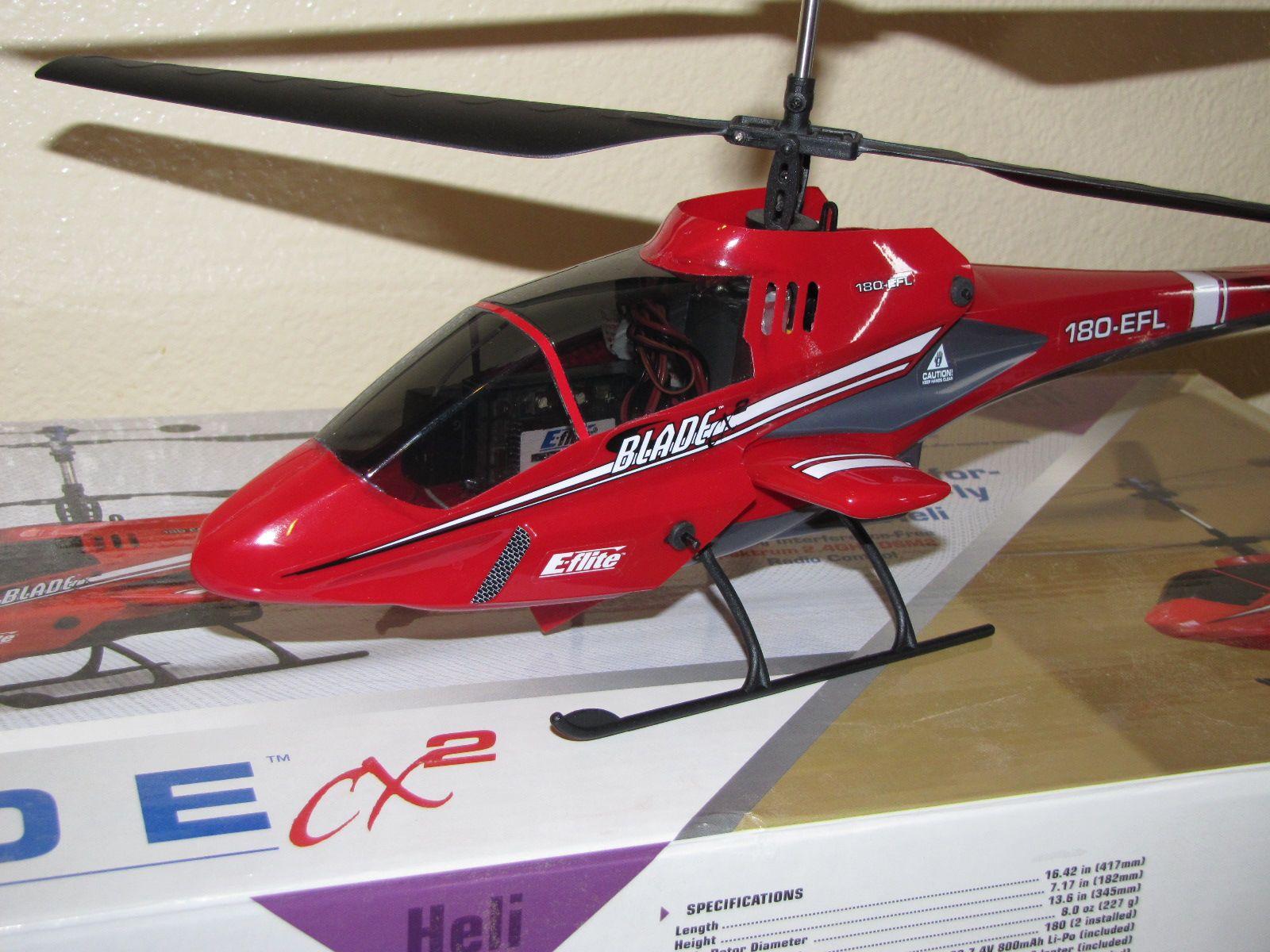 Elicottero E Flite Blade Cx2 : E flite blade cx rtf with extras r c tech forums