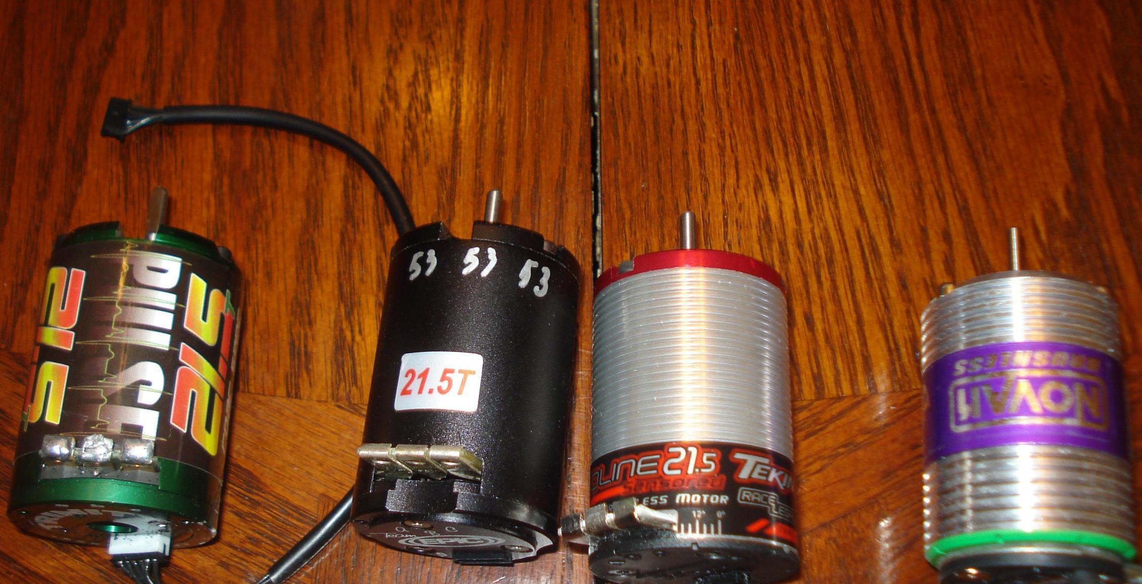 21 5 brushless motor 39 s r c tech forums for Elite motors clarksville tn