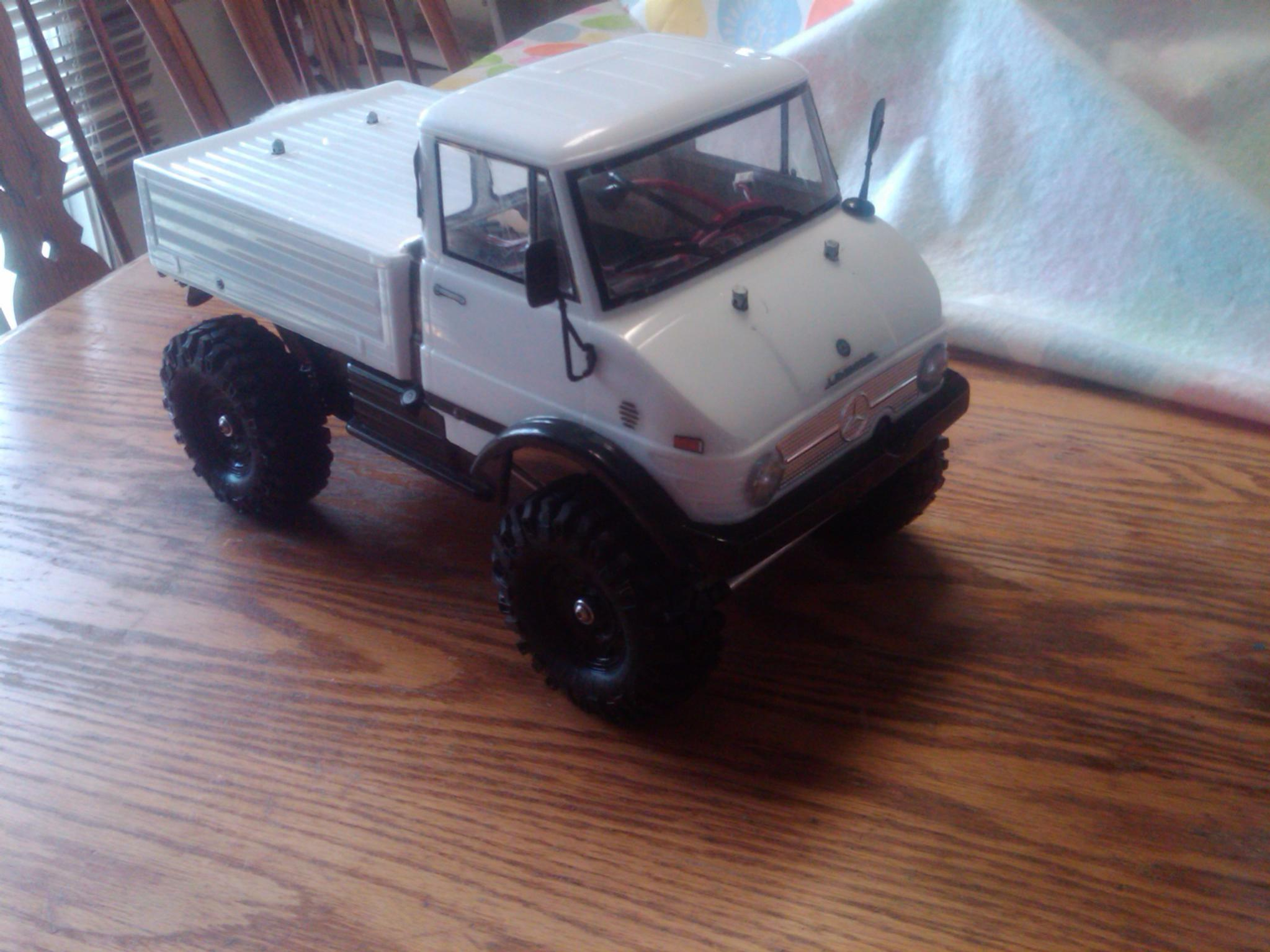 rc scale crawler fully custom made 1 9 unimog rtr for sale or trade