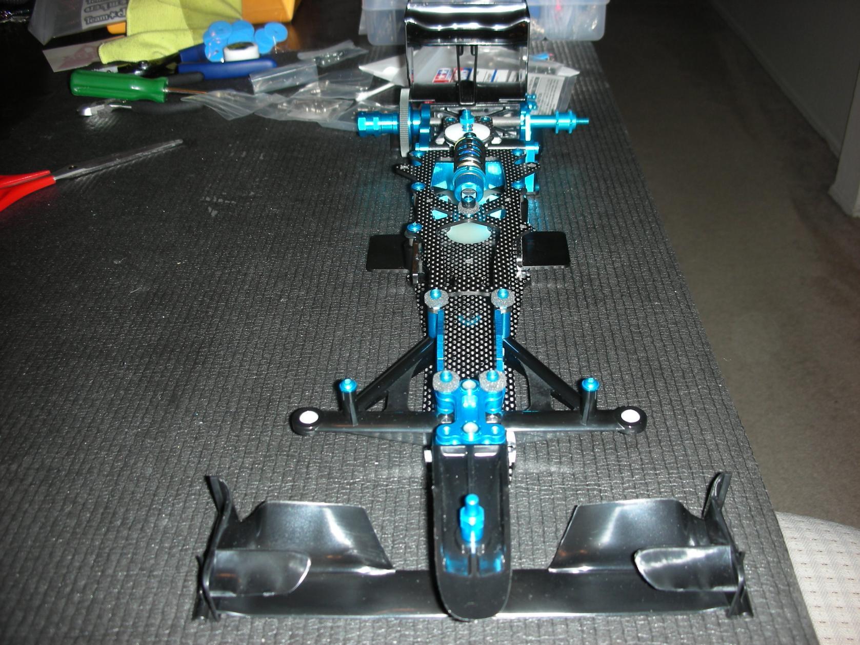 Tamiya F104 Pro Hop Ups Tamiya F104 Pro Full Hop