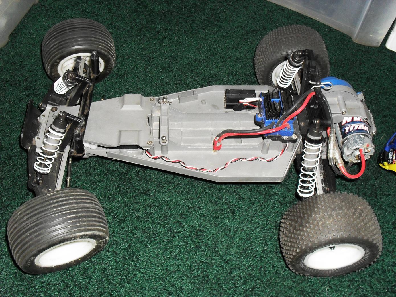 Waterproof Rustler Artr Nitro Sport For Parts Traxxas