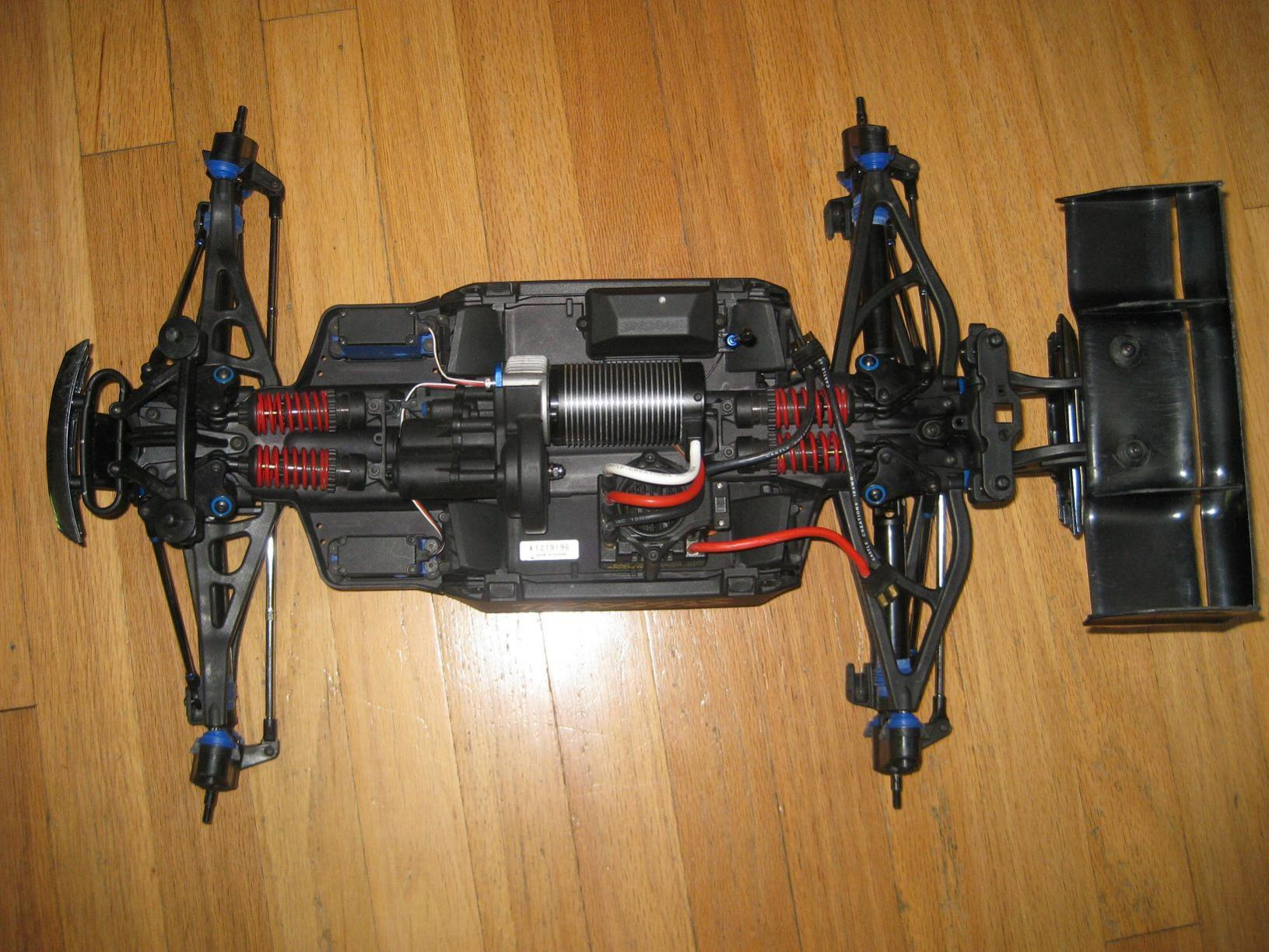 Xrc hobby blog malaysia traxxas e revo brushless rtr monster the traxxas e revo was designed to be brushless ready pooptronica