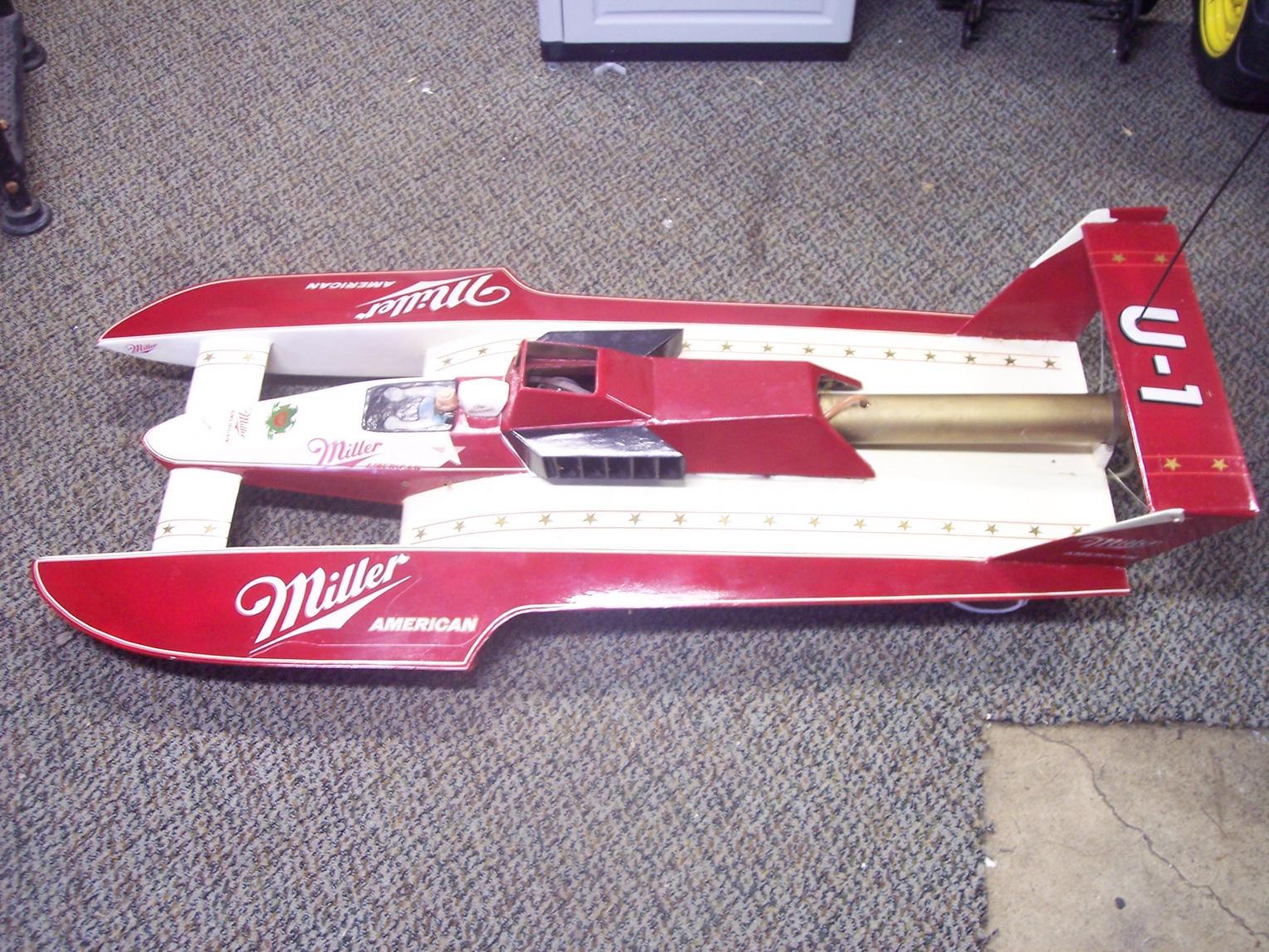 """47"""" Hydroplane Nitro Boat .67 11cc Motor - R/C Tech Forums"""