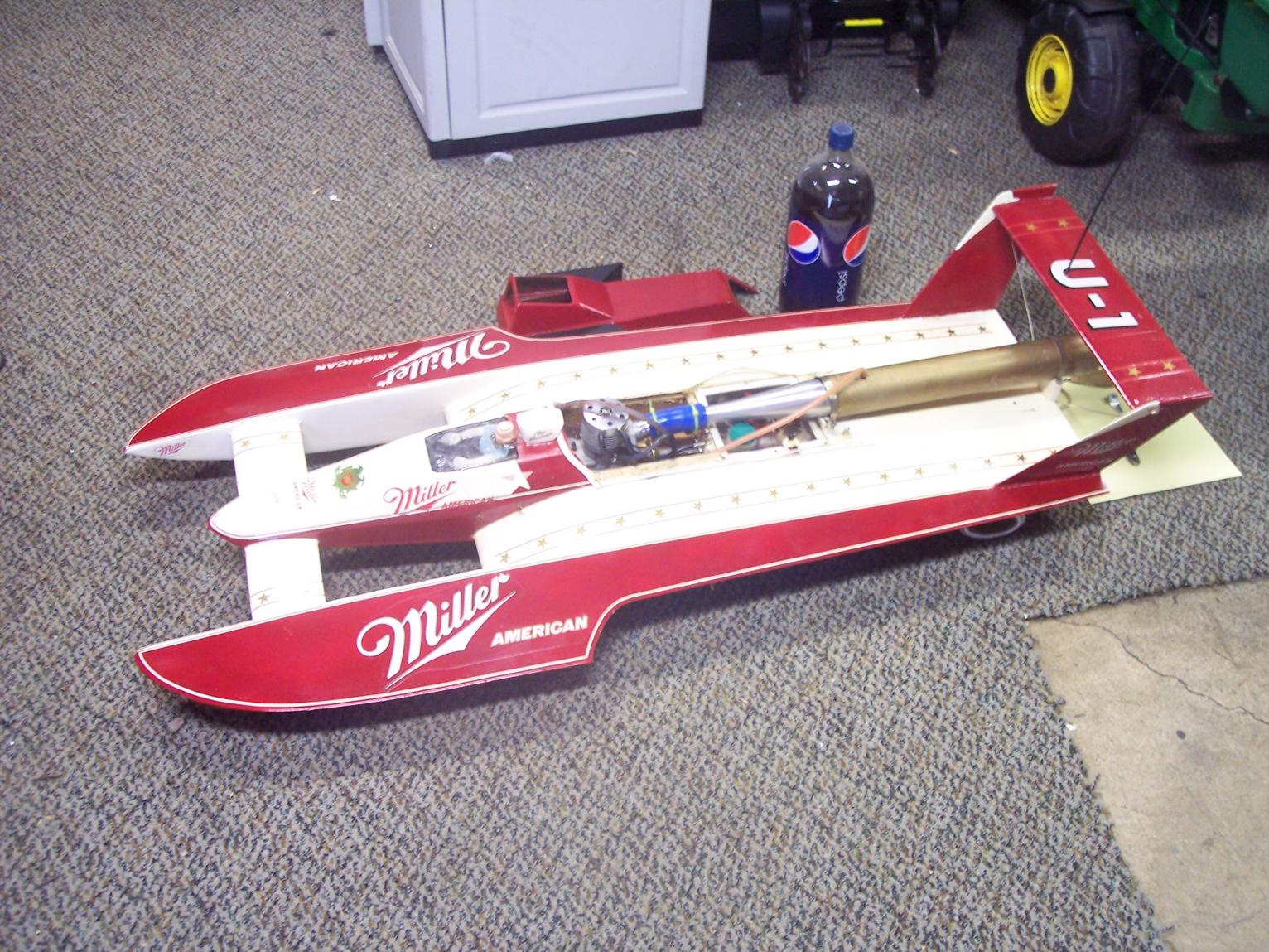 "47"" Hydroplane Nitro Boat .67 11cc Motor - R/C Tech Forums"