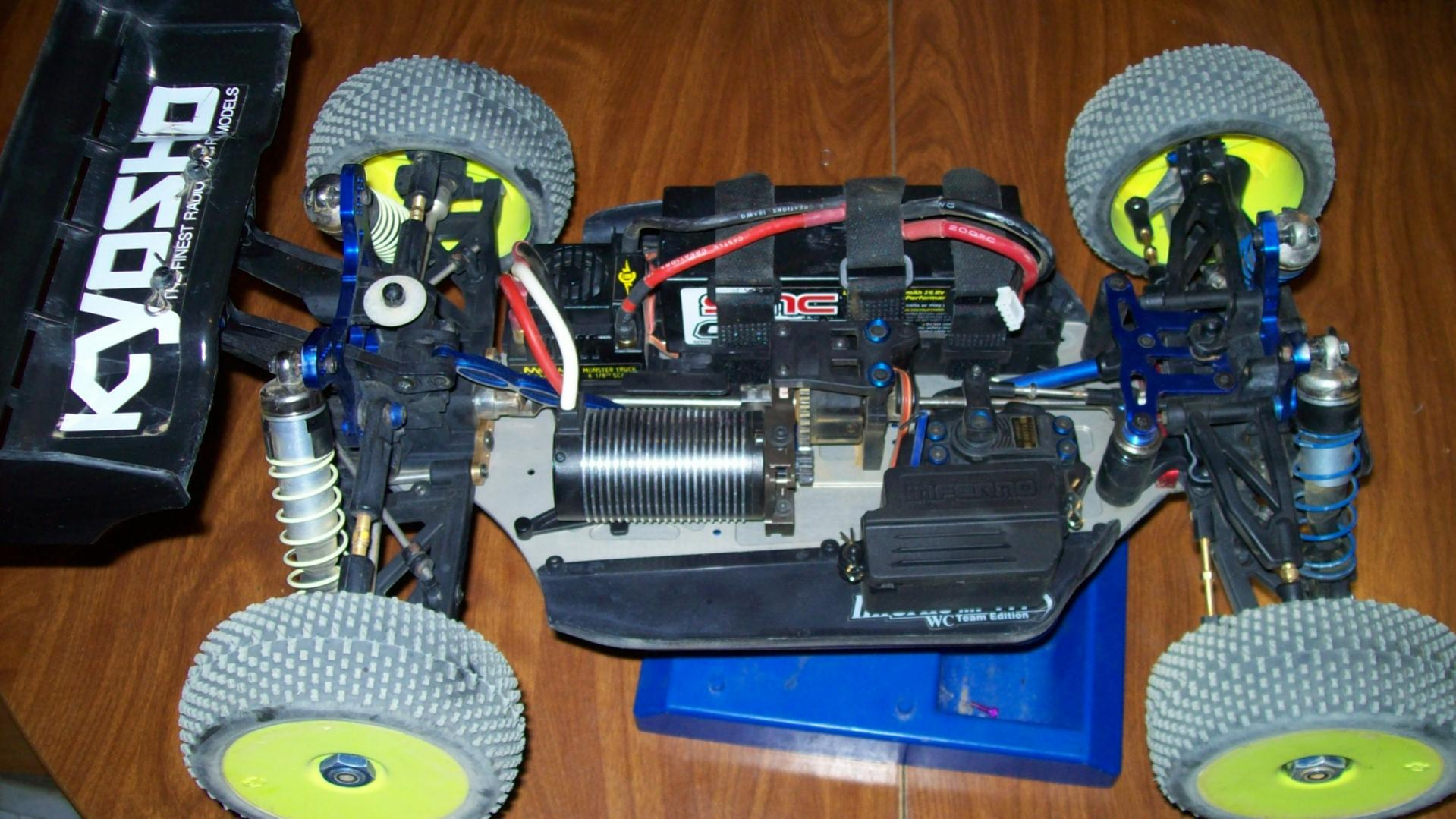 Kyosho Mp777 Electric Buggy R C Tech Forums