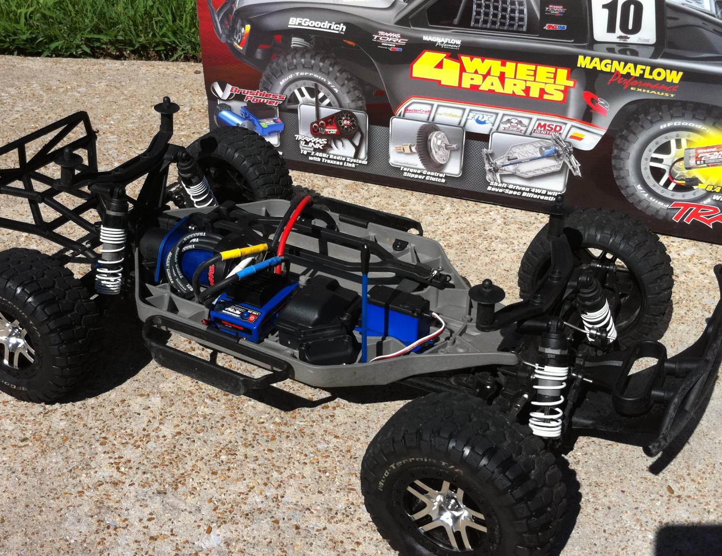 Traxxas Slash 4wd Short Course Truck 4x4 Sct R C