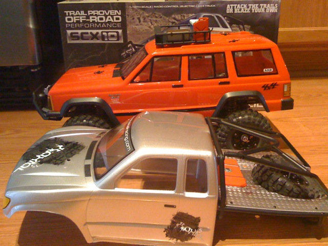 Brand New Axial Scx10 Jeep Cherokee R C Tech Forums