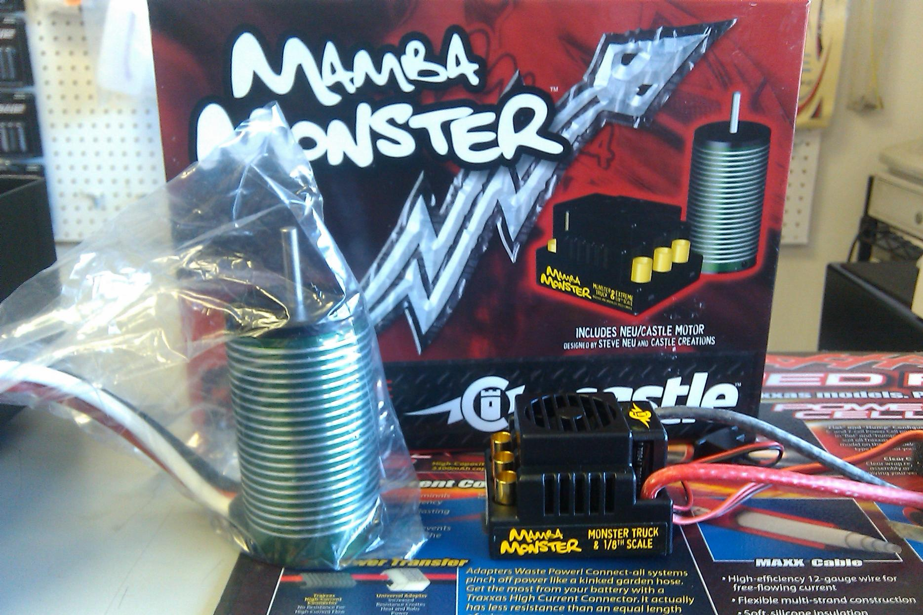 инструкция к mamba monster 2