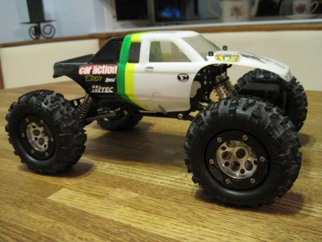 Losi MRC 1.9 RC Rock Crawler Comp Crawler Dialed IN MUST ...