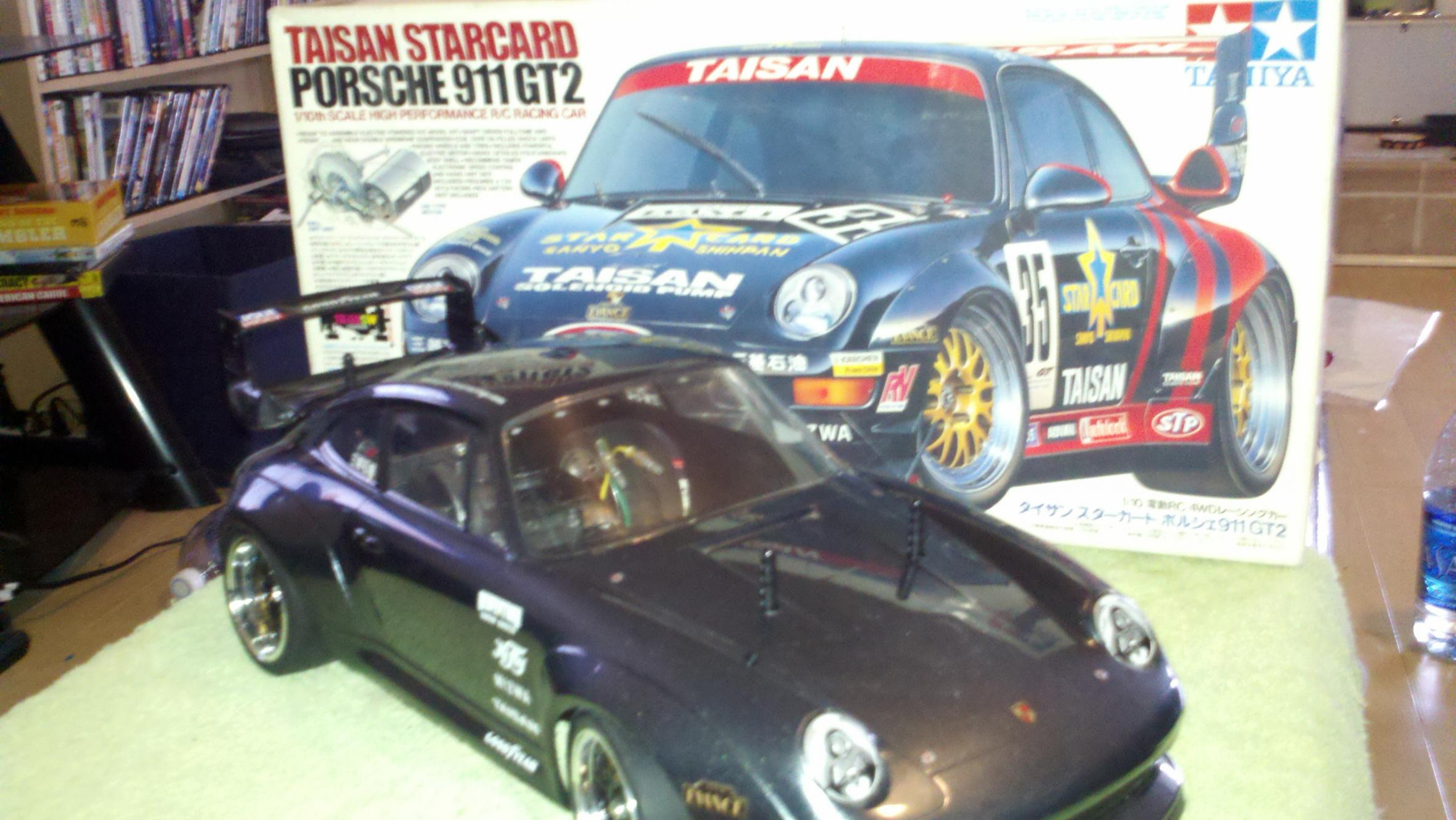 tamiya 58172 ta02sw taisan starcard porsche 911 gt2 rare r c tech forums. Black Bedroom Furniture Sets. Home Design Ideas