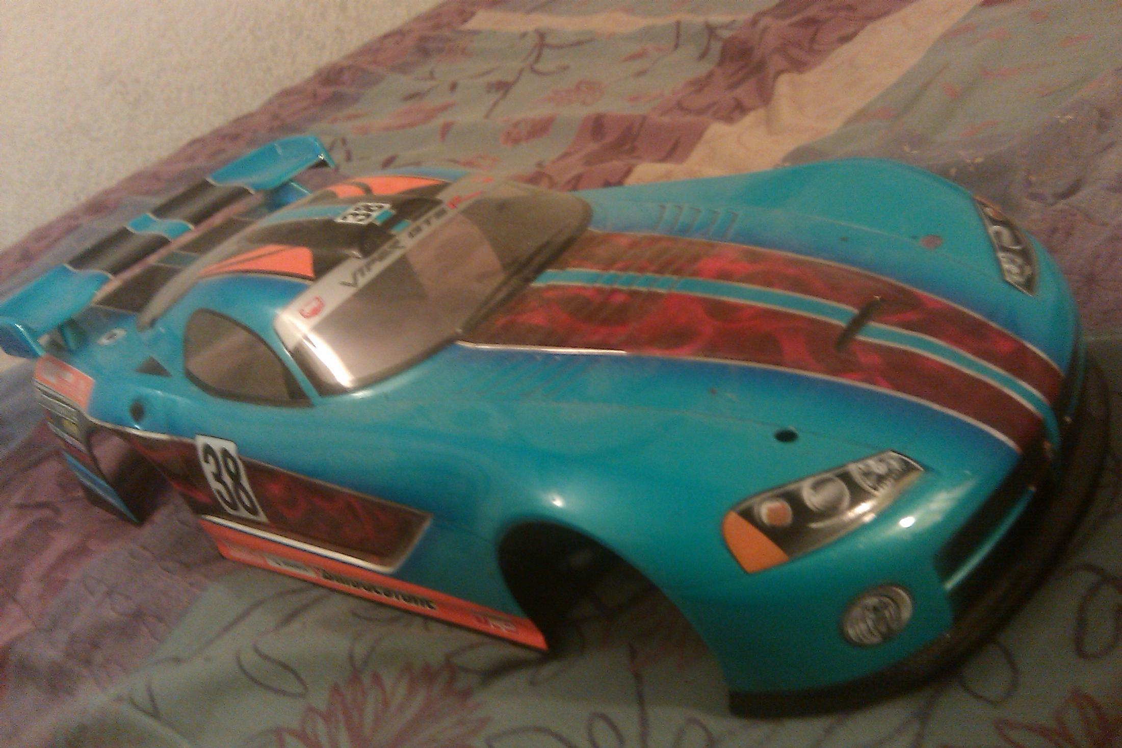 Dodge Viper GT-R 200m Body