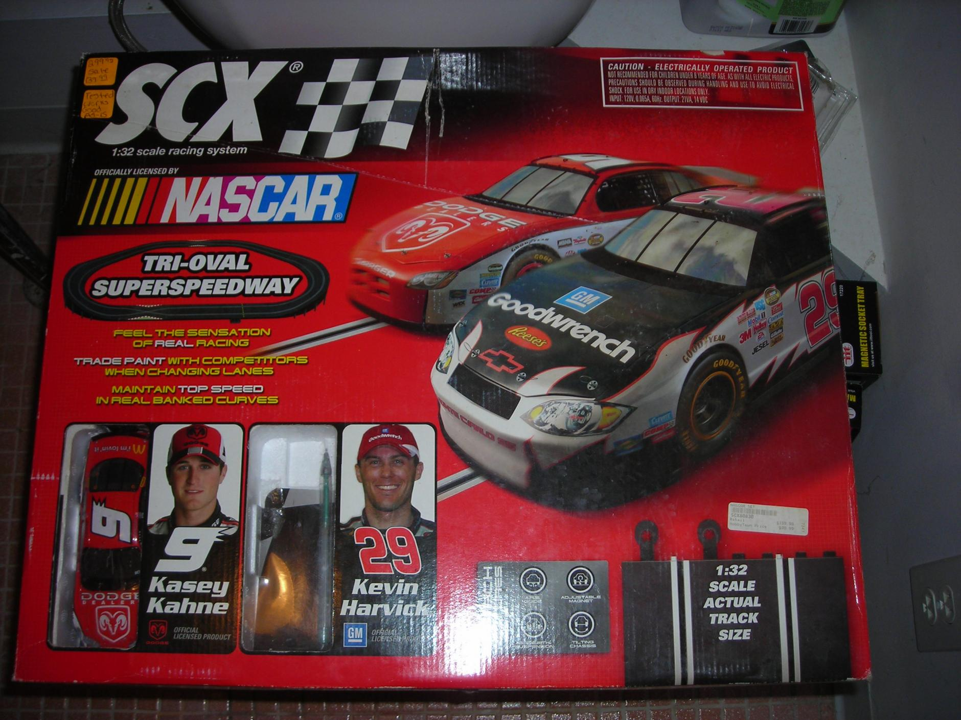 Nascar scx digital slot car sets