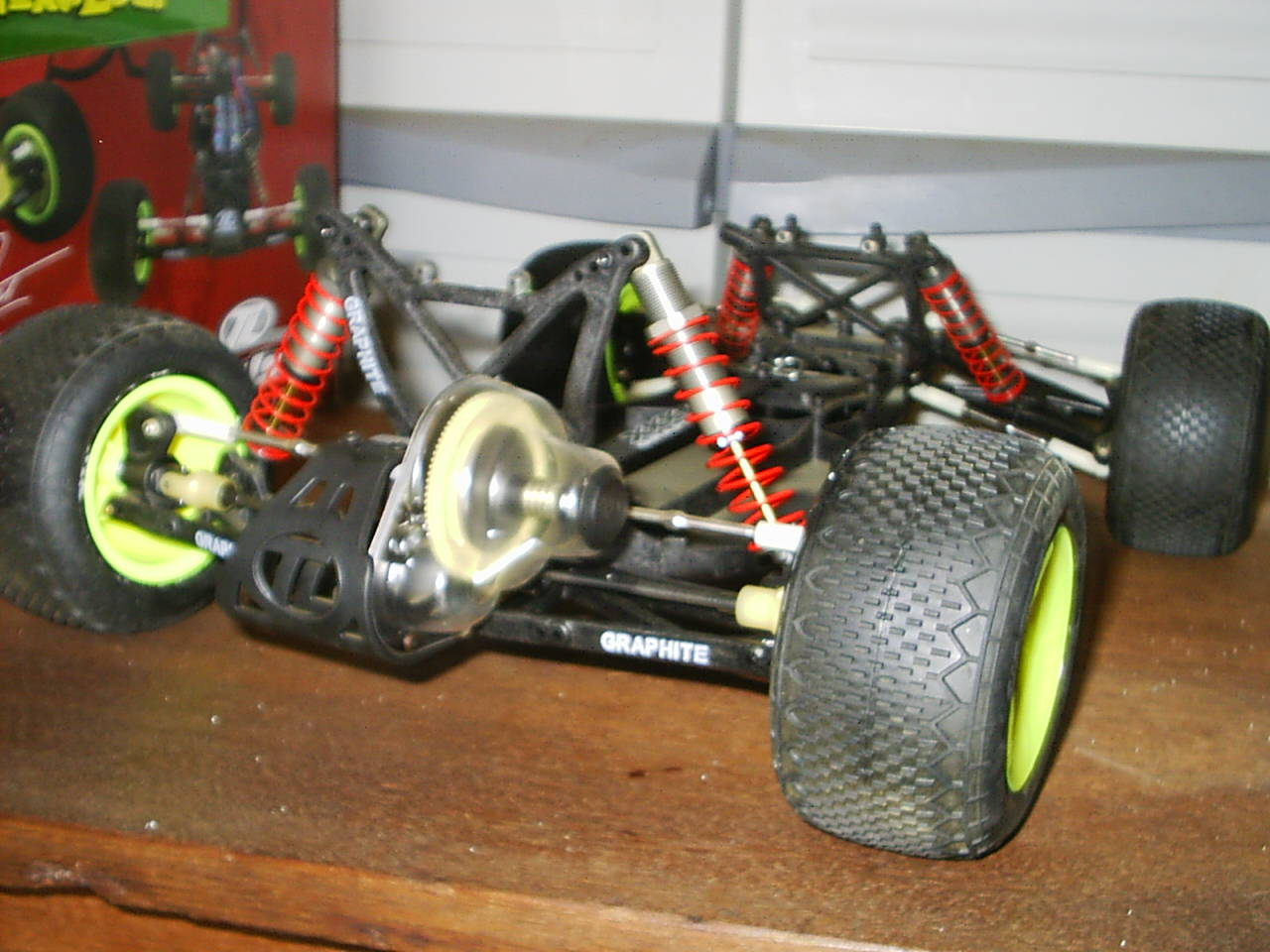 Team Losi Xxx Wmany Parts Vintage