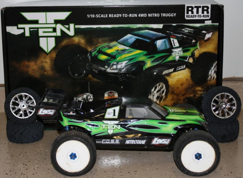 Can Am For Sale >> Losi 1/10 Ten-T Nitro Truggy - R/C Tech Forums