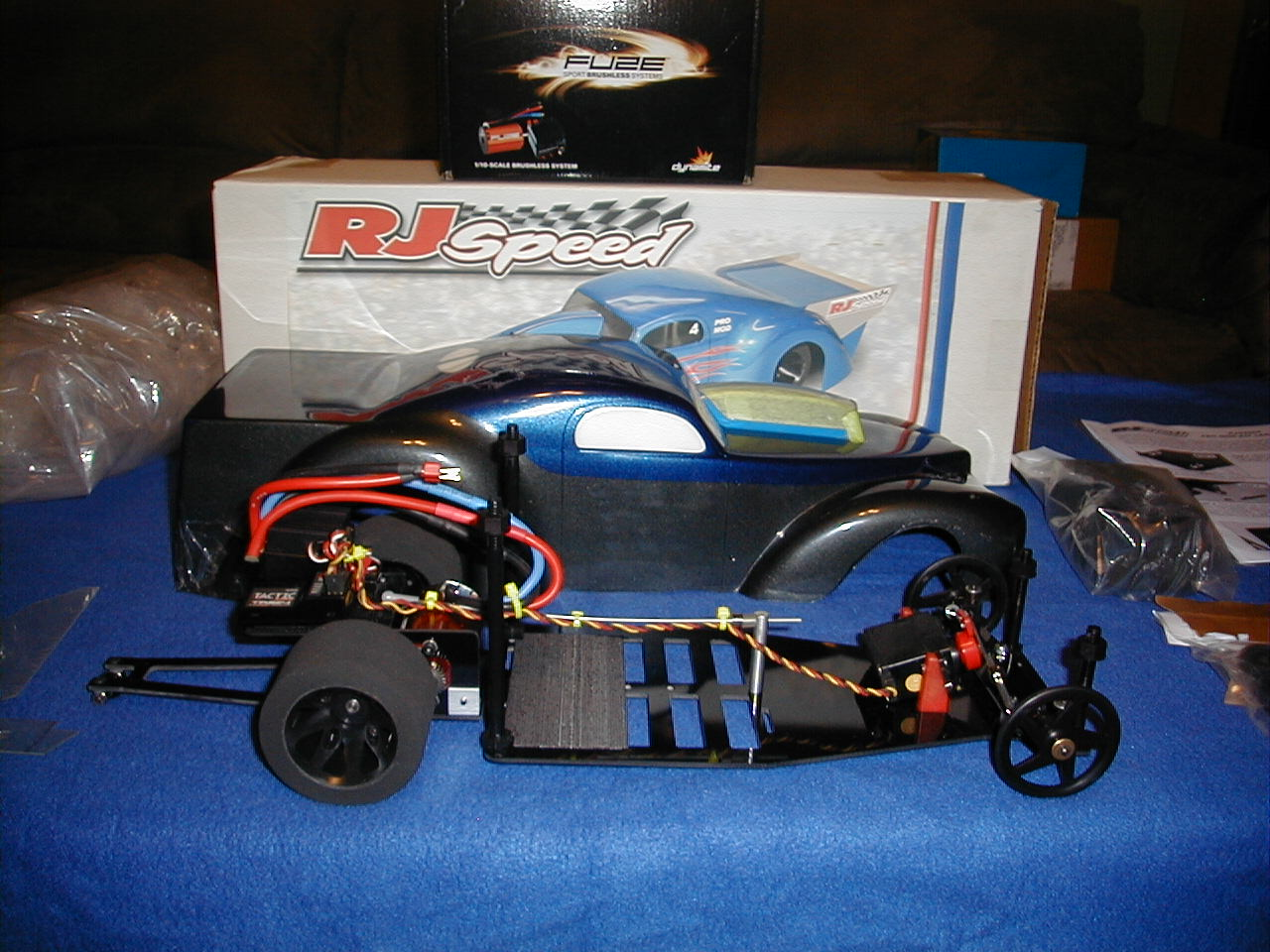 NEW BRUSHLESS PROMOD,,EVERYTING IS NEW,SEE PICS!! - R/C Tech Forums