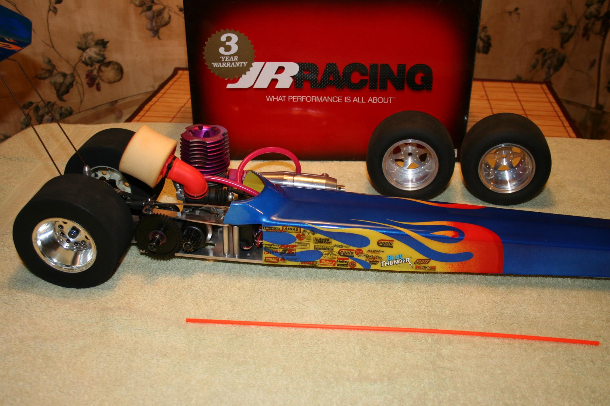 NEW ERA POLISHED ALUMINUM RAIL DRAGSTER RTR,,ALL NEW!SEE