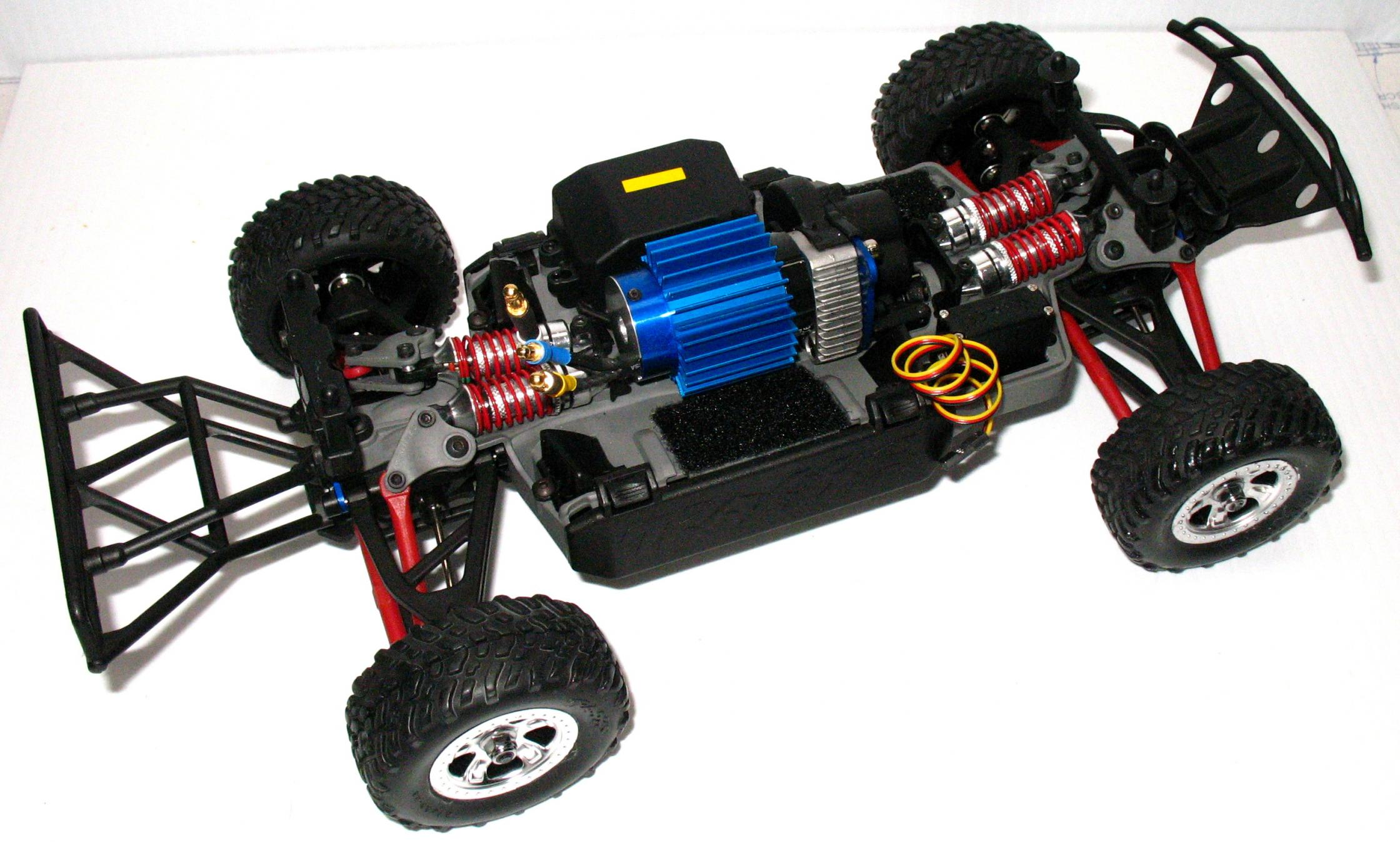 sale UPGRADED brushless 1 16 4WD Traxxas Slash with Velineon and