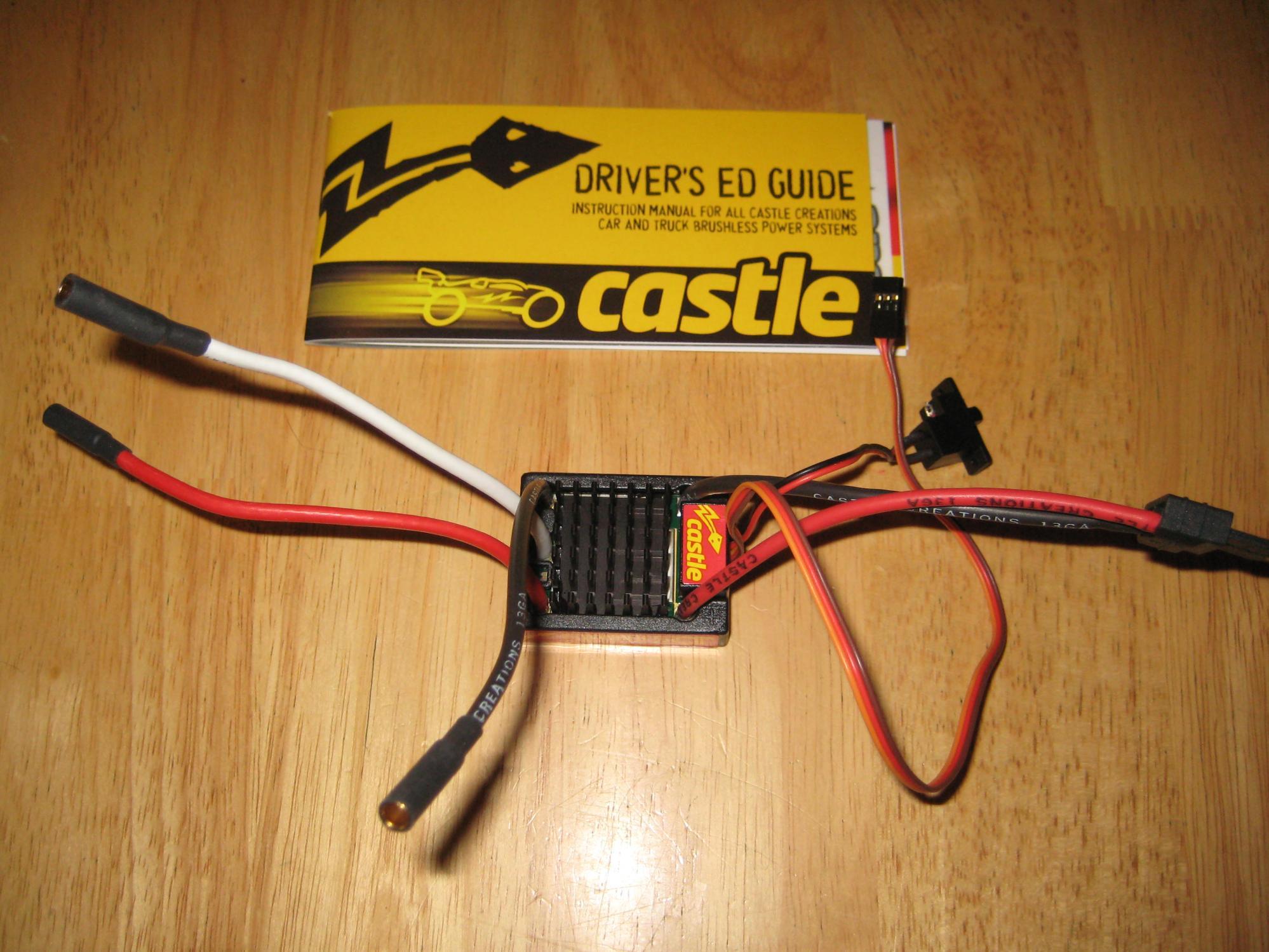 Castle Sidewinder SCT ESC NEW - R/C Tech Forums
