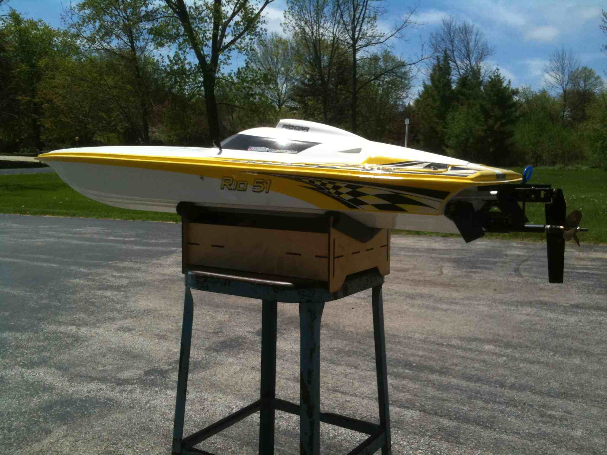 "FOR SALE: Aquacraft Rio 51"" gasoline RC Boat - R/C Tech Forums"