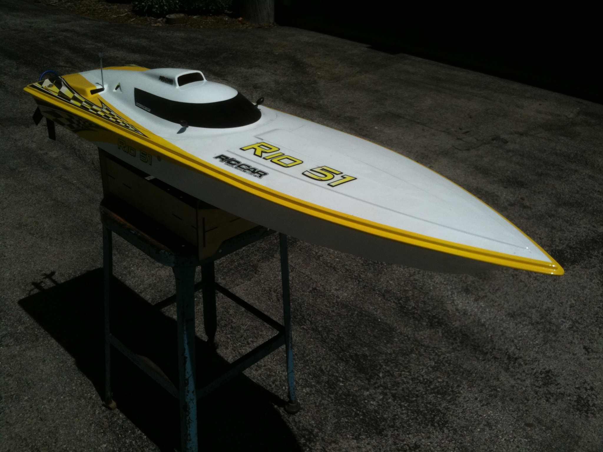 "Proline Boats For Sale >> FOR SALE: Aquacraft Rio 51"" gasoline RC Boat - R/C Tech Forums"