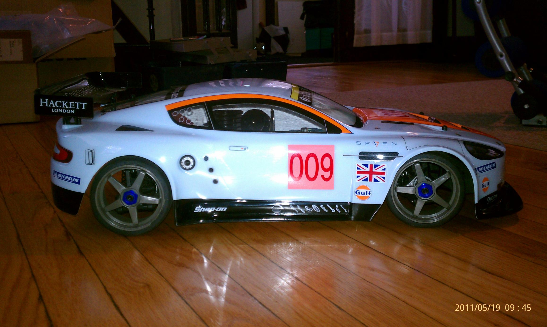 Aston Martin Used >> KYOSHO INFERNO GT2 ASTON MARTIN with upgrades. - R/C Tech ...