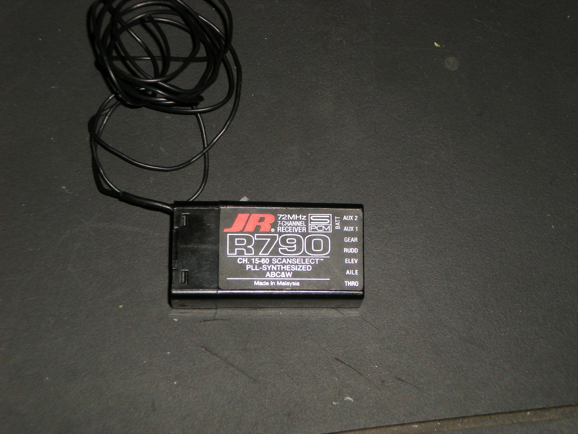 Jr R790 Manual