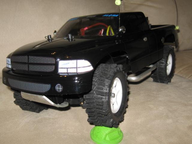 D Sale Tamiya Cc W Dodge Dakota Body R C Wd Mud Slingers Handmade Mods Cc Dakota on 2011 Dodge Dakota