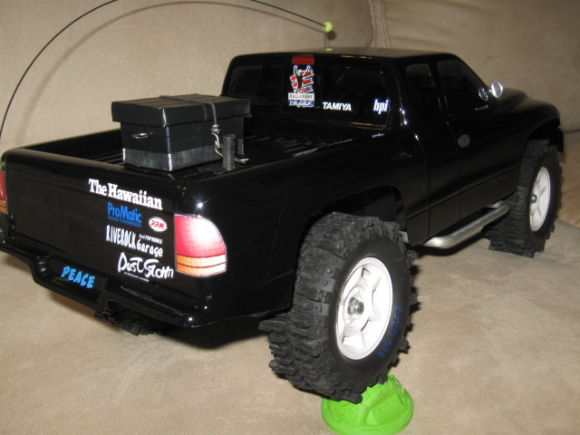 D Sale Tamiya Cc W Dodge Dakota Body R C Wd Mud Slingers Handmade Mods Cc Dakota on Silver Dodge Dakota