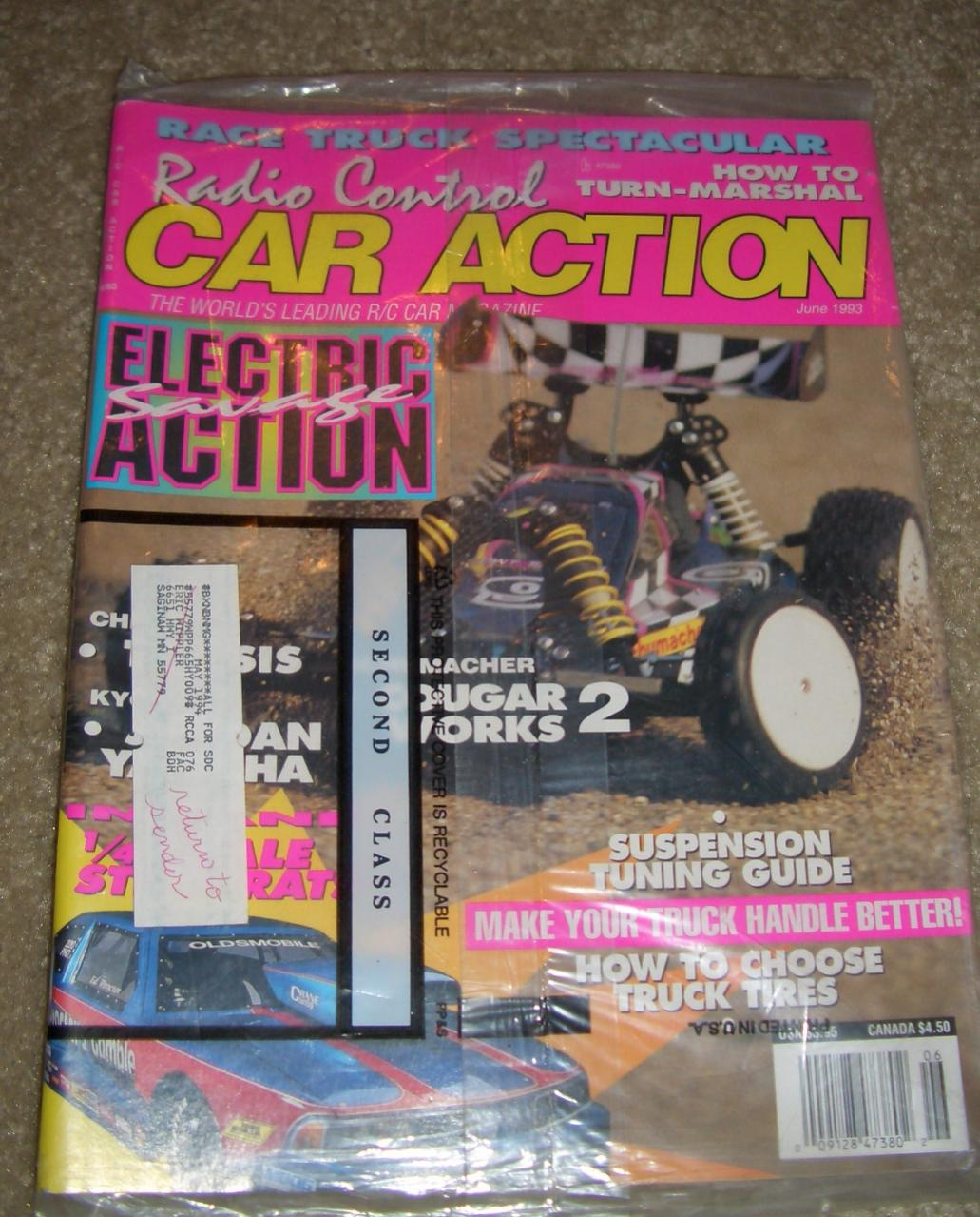 FS: Vintage Radio Controled Car Action Magazines 93/94 (Mountaineer