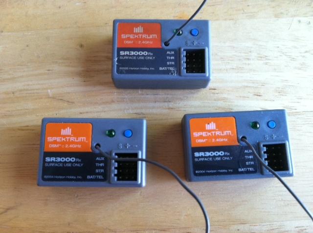 Spektrum sr3000's and telemetry kit - R/C Tech Forums
