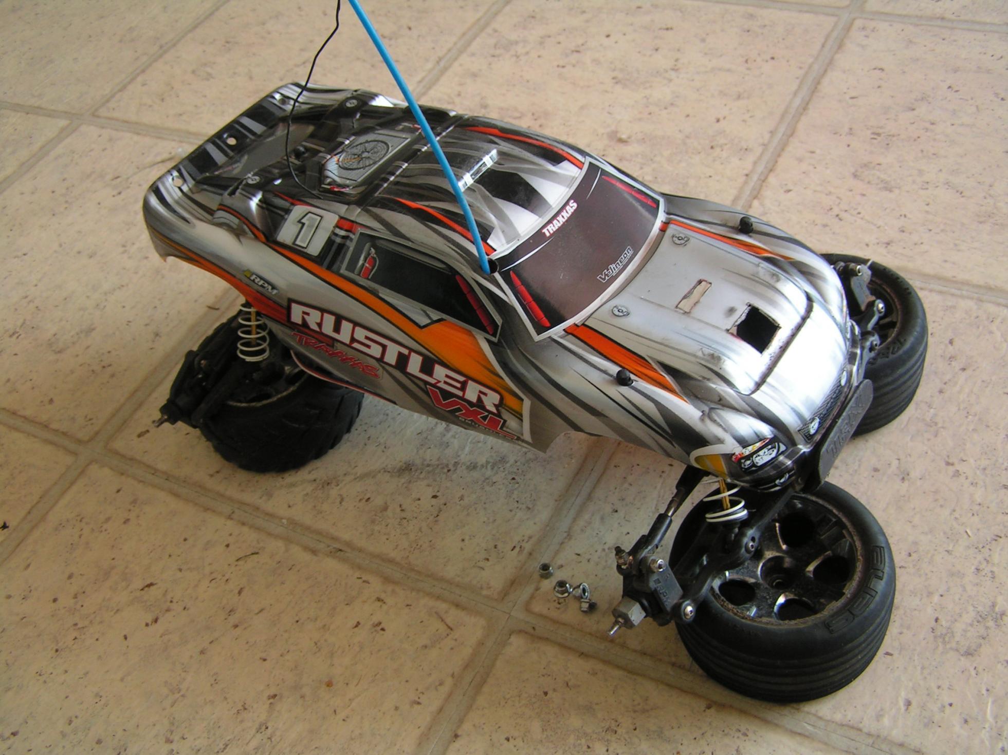 Traxxas Rustler VXL RTR 2 bo s manual pict0191