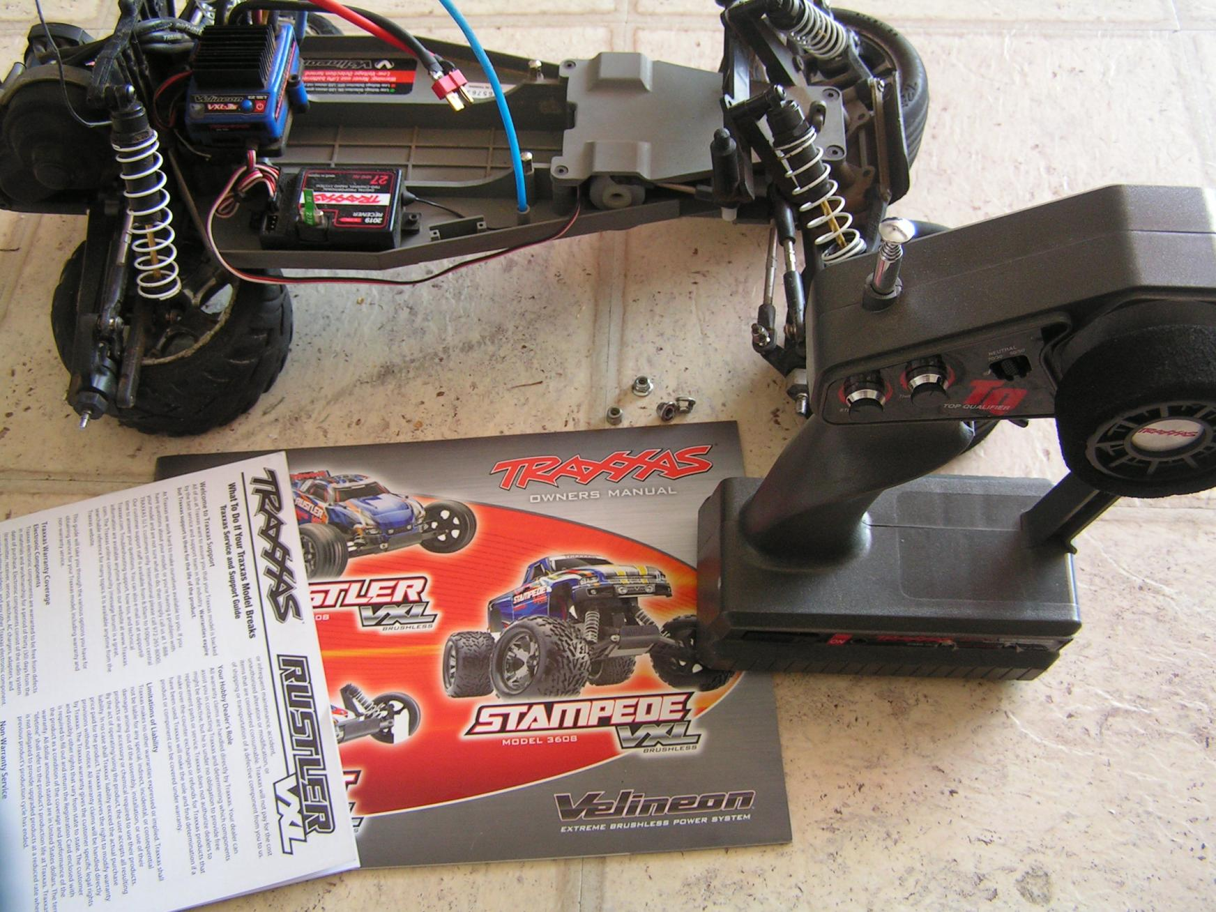 Traxxas Receiver Blinking Red