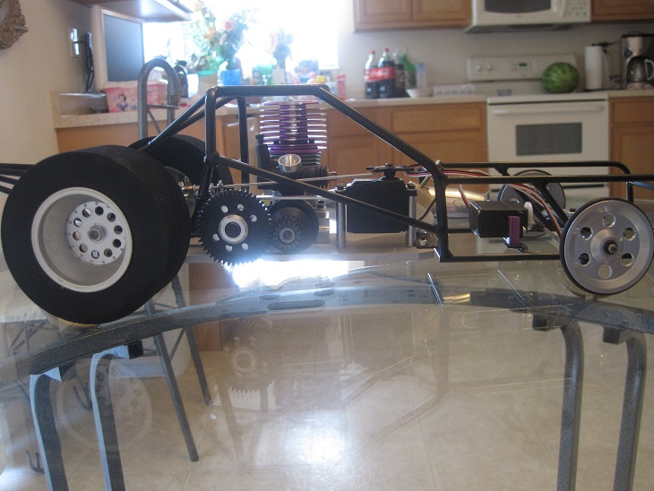 NEW ERA RC Funny Car Dragster Pro Stock 1/8 scale for SALE